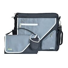 JJ Cole Metra Diaper Bag, Black Stitch