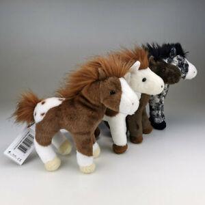 Mini Kuscheltier Pferd klein Plüschtier Stofftier Plüschpferd Pferdchen 20 cm