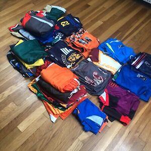 Bulk Lot of 40x New Sports Tops & Shorts. Men's & Women's Size Medium. Polyester