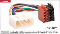 Radioadapter Kabel AutoRadio ISO passend für SUBARU IMPREZA LEGACY