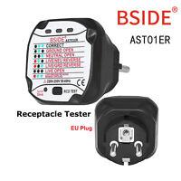 Testeur de prise de courant électrique Testeur de Prise Automatique Portable