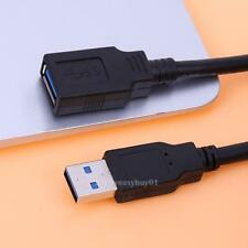 1.1ft USB 3.0 Type A Male to Female Extension Cable Data Sync Extender Cord