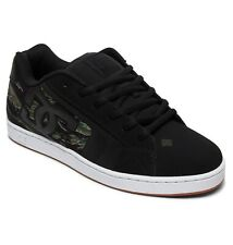 DC SHOES SKATE NET SE CAMO BLACK 302297 KCO MENS UK SIZES 9 - 12