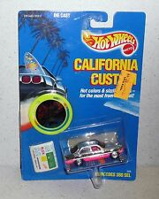 Hot Wheels California Custom MERCEDES BENZ 380 SEL #3368 *MOC 1989 Malaysia