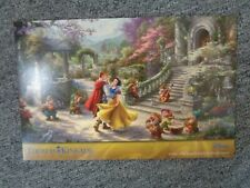 Thomas Kinkade Studio Snow White Dancing in the Sunlight Disney