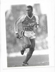 Original Press Photo - DAVID ROCASTLE (Arsenal FC) circa 1988/89