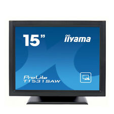 Iiyama ProLite T1531SAW 15 inch Touchscreen LED Monitor 1024x768 Res, 4:3 Ratio