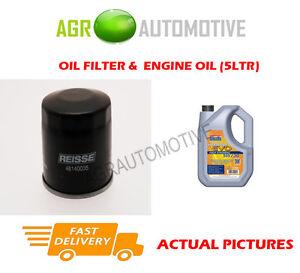 OIL FILTER + LL 5W30 OIL FOR SUBARU IMPREZA WRX 2.5 230 BHP 2005-07