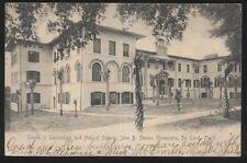 Postcard DE LAND Florida/FL  Stetson University Hall of Science view 1906