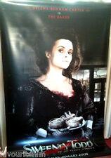 Cinema Banner: SWEENEY TODD 2007 (Helena Bonham Carter/Mrs. Lovett) Johnny Depp