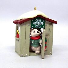 "1988 "" Our Clubhouse "" Hallmark Collector's Club Keepsake Ornament"