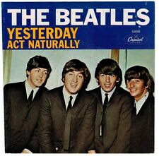 THE BEATLES - YESTERDAY/ACT NATURALLY CAPITOL 5498 45=NM-