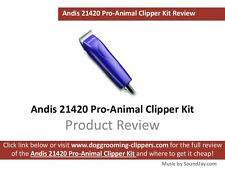Andis 21420 Pro-Animal Detachable Ceramic Blade Clipper Kit