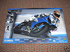 New Ben Bostrom #155 Yamaha 2009 Poster R6 R1 Dunlop