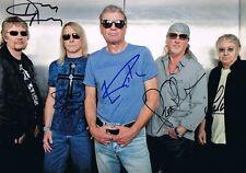 Deep Purple Autogramme signed 20x30 cm Bild