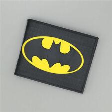 Batman Bat Logo wallets Black Plastic credit card holder designer wallet