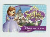 DISNEY Gift Card - Princess Sofia the First - No Value - I Combine Shipping