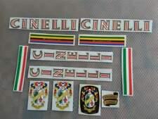 Kit adesivi logo cinelli old vintage deca