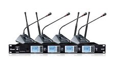 Pr-a4200sb Pro UHF 4 Channels Conference Wireless Lecturn Microphone System