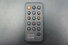 EVGA IN D TUBE DIGITAL TV TUNER RC-07776GP REMOTE CONTROL