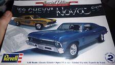 REVELL 1969 CHEVY NOVA SS 2N1 1/25 Model Car Mountain FS