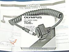 Olympus TTL Shoe Cord T0.6m (pour OM-SLR + T32/T45/T Power Control 1) - NEUF