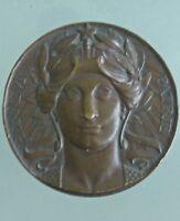 Medalla Bronce Honor Casa A. Dujardin Punzón Cuerno (No Fecha ) ww1