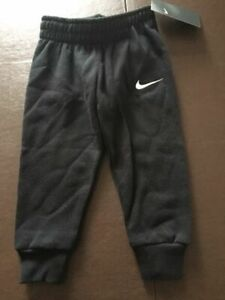 NWT Nike Boys Toddler Athletic Jogger Pants Black Size 3T 76F088 023 $30