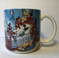 Disney Mickey Mouse Through The Years Collectible Coffee Mug Made In Japan