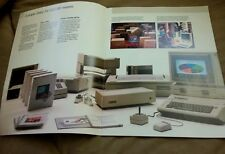"""Apple Computer IIe """"Use it for one simple thing. Everything"""" Brochure 1984 rare"""