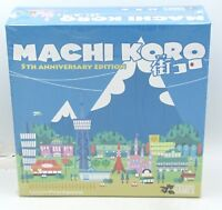 Machi Koro PAN201821 5th Anniversary Edition (Card Game) Pandasaurus Games City