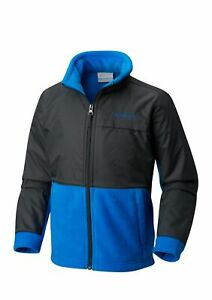 COLUMBIA Boys M(10-12) Steen's Overlay Fleece Jacket NWT
