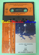 MC ELECTRIC LIGHT ORCHESTRA ELO Time 1981 italy JET CA 236 no cd lp dvd vhs