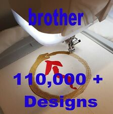 Brother Embroidery Designs - 110,000+ designs via Digital Download