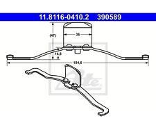 ATE 11.8116-0410.2 Feder, Bremssattel   Audi A4 Avant A4 A6 A6 Avant A3 A8 TT