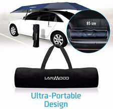 Lanmodo Car Tent, Protects your veicle from damage from hail and snow