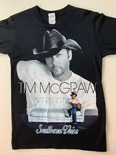 Tim McGraw Southern Voice Tour Tee Unisex Size Small 2010 T-Shirt Country