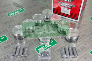 """Manley Platinum Pistons Ford 4.6L / 5.4L Mustang Coated  3.572"""" 10.64:1 CR"""