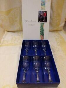 Renaissance 6 sherry/port glasses