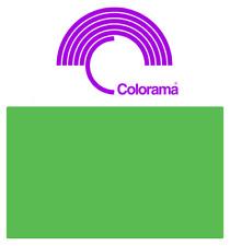 Colorama SPRING GREEN PVC Colormatt 7100  100cm x 130cm