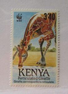 Kenya SC #492 Giraffe WWF MNH stamp