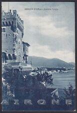 GENOVA CITTÀ 443 STURLA - CASTELLO Cartolina viaggiata 1941