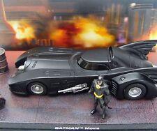 Ixo Altaya 1:43 BATMAN BATMOBILE TV Series 1989 DC COMICS DISPLAY SET MIB RARE!