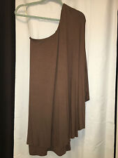 NWT BLAQUE LABEL ONE SHOULDER DRAPE CAPE STYLE PARTY DRESS S SMALL   SFS