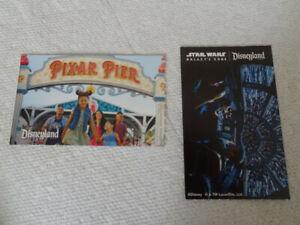 TWO DISNEYLAND California Adventure 1-Day PARK HOPPER PEAK Tickets Expire 12/21