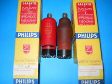 EF9 PHILIPS TSF RED VALVES (NIB & USED TESTED GOOD)