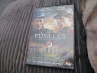 """DVD """"LES FUSILLES"""" Gregoire LEPRINCE-RINGUET Michael GREGORIO / Philippe TRIBOIT"""