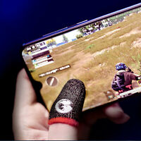 Non-Slip Gaming Finger Gloves Sweat-proof Finger Cover Set for Mobile Game