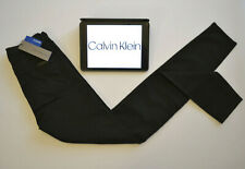 CALVIN KLEIN Womens Jeans Black Skinny Sculpted Zip Fly W26 L32-34