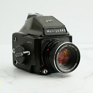 Mamiya 645J | Sekor 80mm 2.8 | Prism Finder GOOD